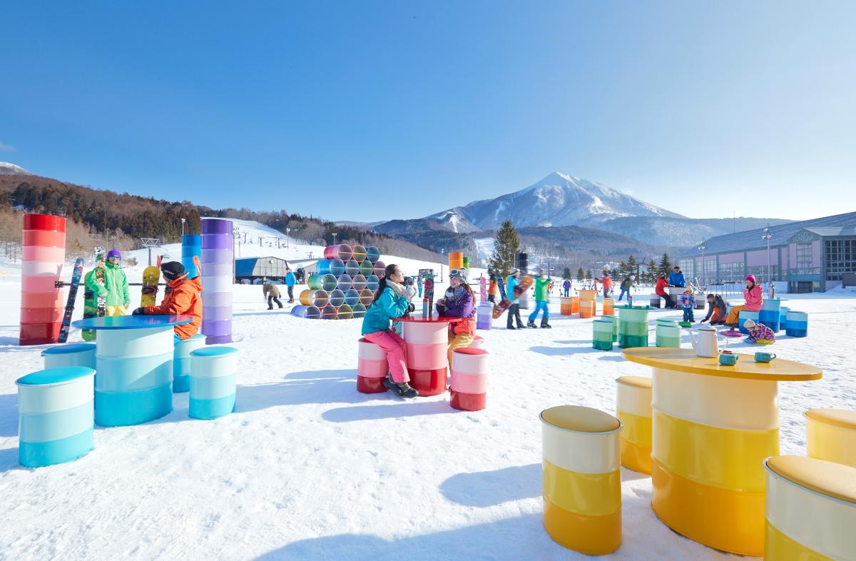 星野 ALTS 磐梯滑雪場特色服務介紹  星野ALTS磐梯打擊廣場